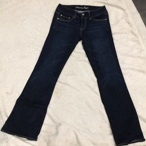 American Eagle flares.size 6. Never worn